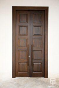 Puerta resistente al fuego, con puertas de altas presiones, alta durabilidad y elementos adicionales