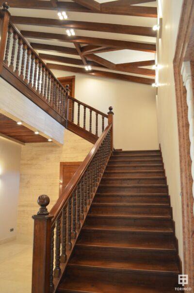 Escaleras de la vivienda